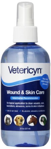 Vetericyn Universal Spray 8oz Vetericyn All Animal Wound & Skin Care 8oz