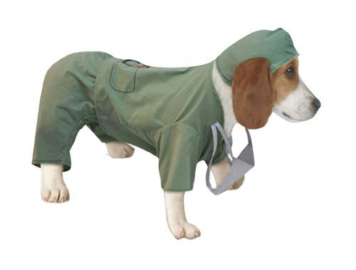 Vo Costume Doctor Lg Halloween Dog Surgeon Costume (large)