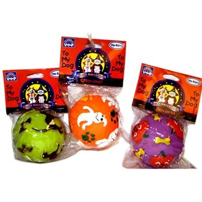 Vo Halloween Haunted Ball 3in Halloween Haunted Vinyl Balls