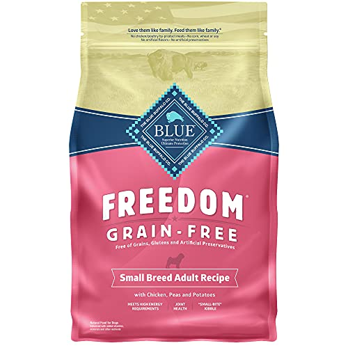 Blue Buffalo Small Breed Freedom Grain Free Chicken Adult Dog 4lb