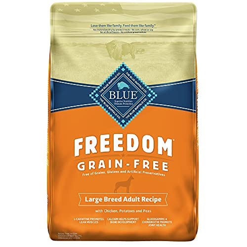 Blue Buffalo Large Breed Freedom Grain Free Chicken 24lb