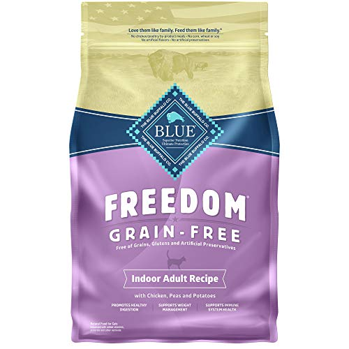 Blue Freedom Cat Grain Free Indoor 5lb