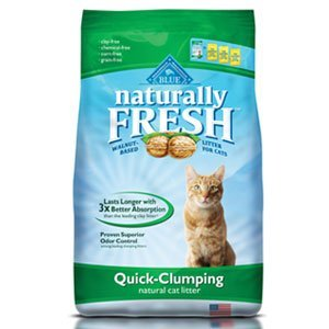 Blue Litter Clump 6lb Blue Buffalo Naturally Fresh Clumping Litter 6 Lb