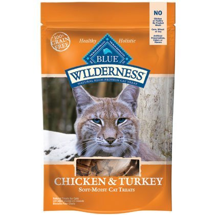 Blue Wild Cat Gf Tky Trt 2oz Blue Wilderness Chicken And Turkey Cat Treats