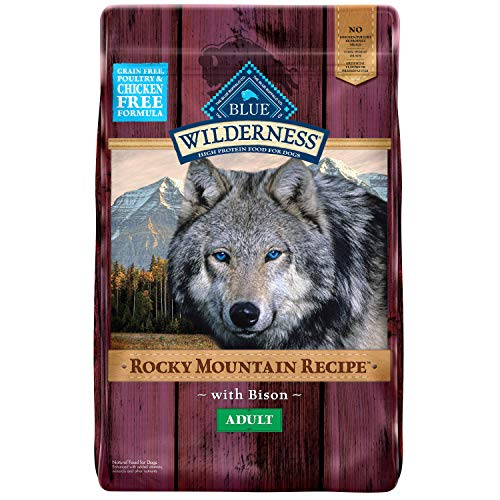 Blue Buffalo Rocky Mountain Bison Dog 22lb