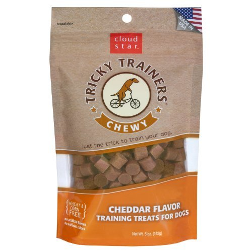 Cloud Buddy Tricky Trnr Chz 5z Cloud Star Chewy Tricky Trainers Cheddar 5 Ounce Bags