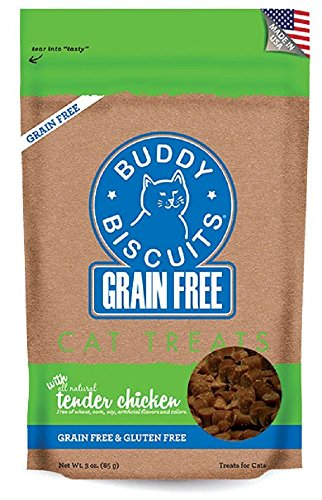 Cloud Cat Gf Sft Chicken 3oz Cloud Star Grain Free Buddy Biscuits For Cats Tender Chicken 3 Ounce