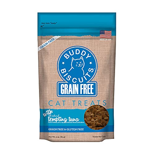 Cloud Cat Gf Sft Tuna 3oz Cloud Star Grain Free Buddy Biscuits For Cats Tempting Tuna 3 Ounce