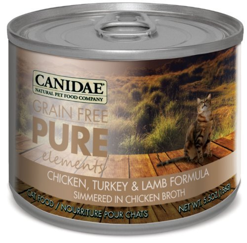 Canidae Grain Free Pure Elements Chicken Turkey Lamb 5.5oz