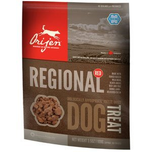 Orijen D Fzd Trt Reg Red 3.5oz Orijen 64992071004 3.5 Ozfreeze Dried Regional Red Dog Treats 3.5 Oz