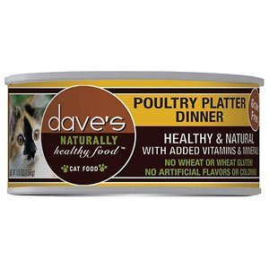 Dave's Cat Naturally Healthy Poultry Platter 5.5oz