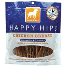 Dogs Happy Hips Chicken 15oz Dogswell Happy Hips Chicken Breast Jerky Dog Treat 15 Ounce 6 Per Case.