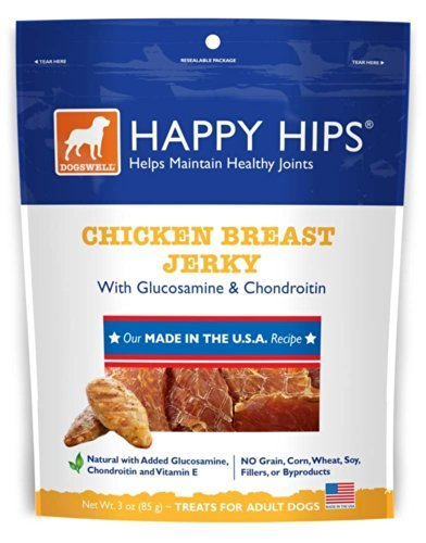 Dogs Usa Jerky H Hips Ckn 3oz Dogswell Happy Hips Chicken Breast Jerky Dog Treats 3 Oz.
