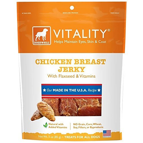 Dogs Usa Jerky Vitality Ckn 3z Dogswell Vitality Chicken Breast Jerky (3 Oz)