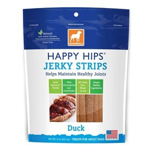 Dogs Usa Jerky Strp Hh Dck 12z Happy Hips Duck Jerky Strip Dogswell Dog Treat 12 Ounce