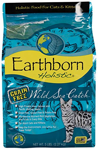 Earthborn Holistic Cat Wild Sea Catch Grain Free Cat 6lb Qb 5
