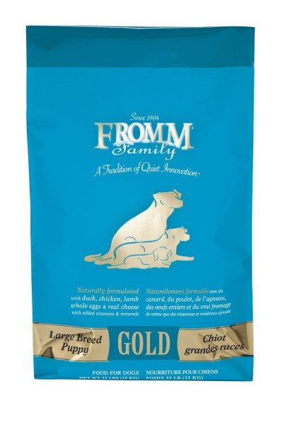 Fromm D Gold Large Breed Puppy 33lb