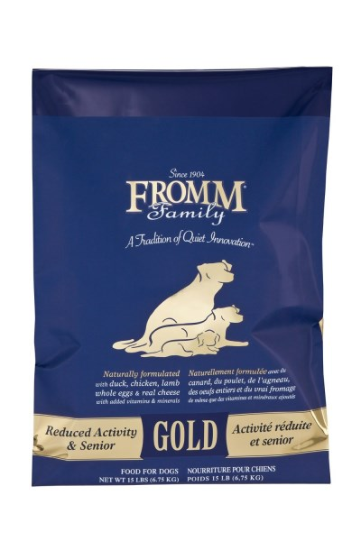 Fromm Gold Nutritionals Senior 15lb