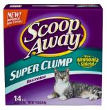 Scoop Away Unscnt 14lb Scoop Away Super Clump Unscented 14 Pound Boxes
