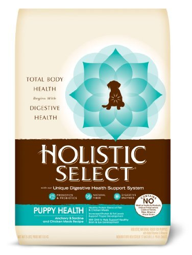 Holistic Select Nourish Puppy Anchovy & Sardine Meal Dog 15lb
