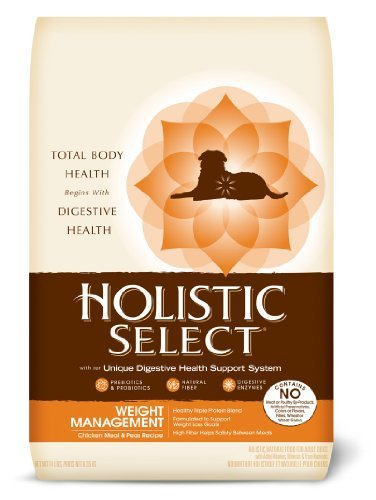 Holistic Select Weight Management Chicken Meal & Peas Dog 14lb