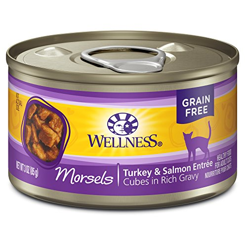 Wellness Cat Cubed Cuts Turkey & Salmon 3oz