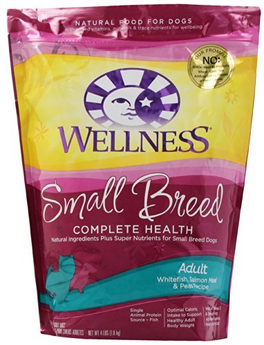 Wellness D Sm Breed Whtfsh 4lb