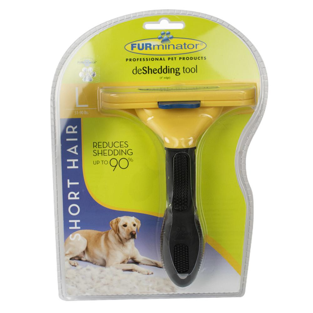 Furminator Short Hair Lg Furminator Short Hair Deshedding Tool For Dogs Large (101007)