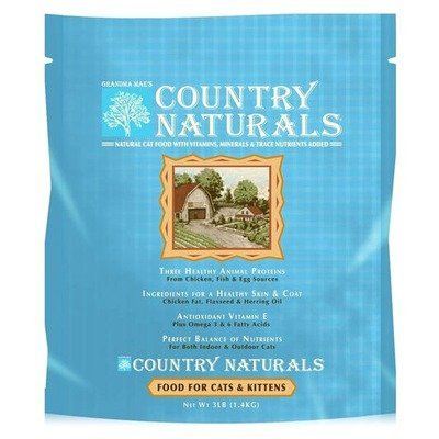 Grandma Mae's Country Naturals Cat & Kitten 3lb Qb 6