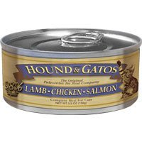 Hound & Gatos Lamb Chicken Salmon 5.5oz