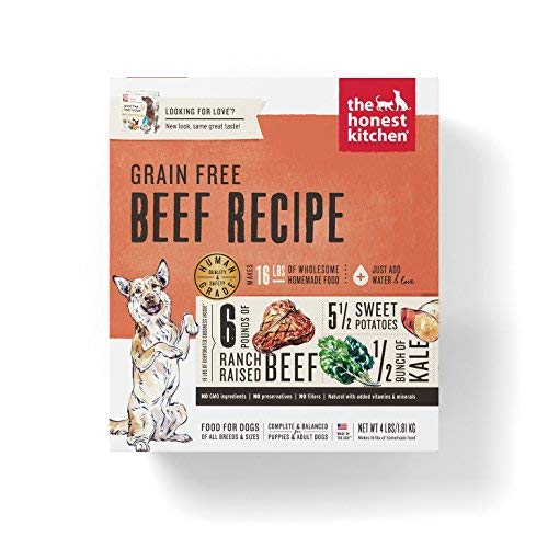 Honest Kitchen Love Dehydrated Dog 4lb