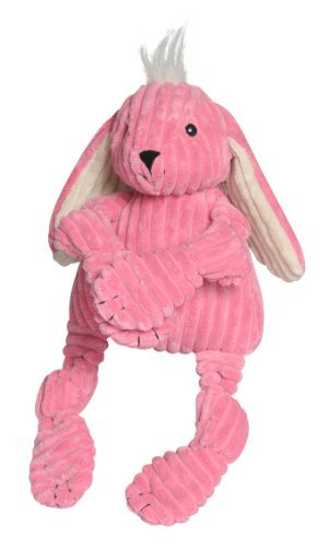 Huggle Hounds Knotties Bunny Hugglehounds Knotties Bunny Dog Toy Large