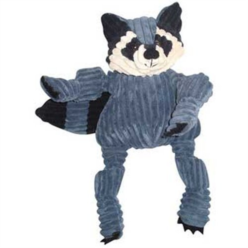 Huggle Hounds Knotties Racoon Hugglehounds Knotties Raccoon Dog Toy Large