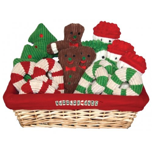 Huggle Xmas Cookie Basket Holiday Cookie Basket