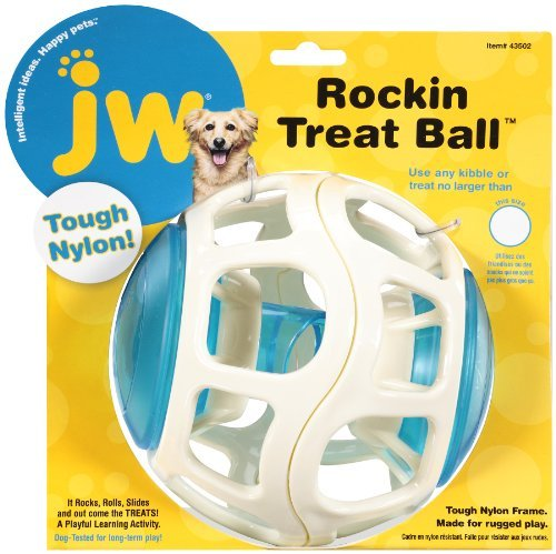 Jw Rockin Treat Ball Jw Pet Company Rockin Treat Ball For Dogs