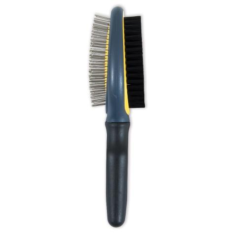Jw Grip Brush Dbl Sided Jw Pet Company Gripsoft Double Sided Brush Dog Brush
