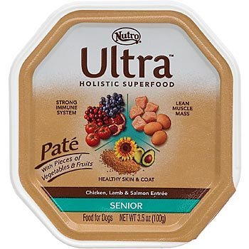 Nutro Ultra Chicken Lamb And Salmon Senior 3.5oz