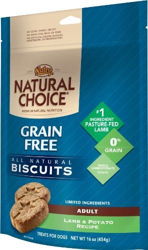 Max Nc Biscuit Gf Lmb Pot 16oz Natural Choice Dog All Natural Grain Free Biscuits Lamb And Potato Recipe 16 Ounce