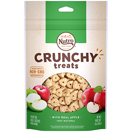 Max Nc Dog Crunch Apple 10oz Nutro Crunchy Treats With Real Apple 10 Ounce
