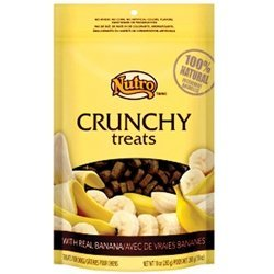 Max Nc Dog Crunch Banana 10oz Nutro Crunchy Treats Banana (10 Oz)