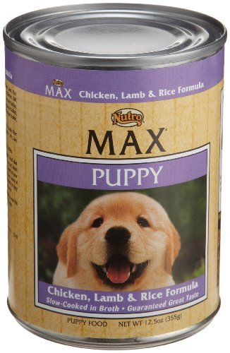 Nutro Max Puppy Chicken Lamb And Rice 12.5oz