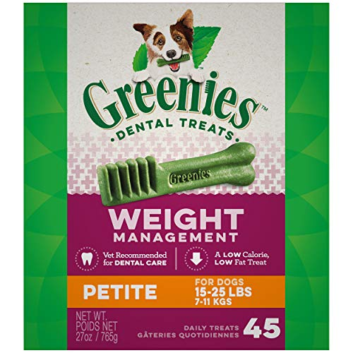 Sdan Greenies Lite Petite 27oz Greenies® Weight Management Treat Tub Paktm For Dogs Petite 27 Ounce
