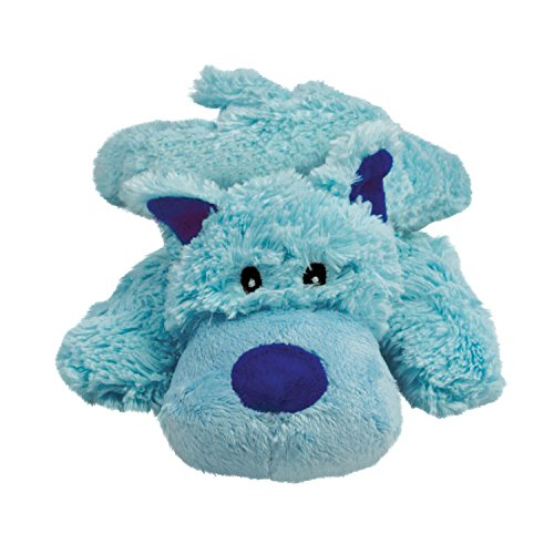 Kong D Cozie Bailey Md Kong Cozie Baily The Blue Dog Medium Dog Toy Blue