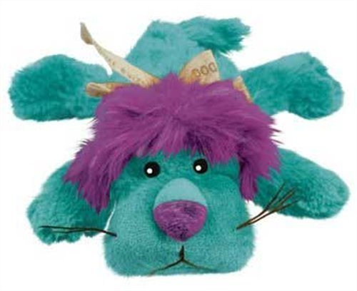 Kong D Cozie King Md Kong Cozie King The Purple Haired Lion Medium Dog Toy Blue