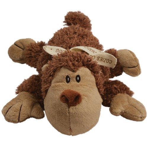 Kong D Cozie Spunky Medium Kong Cozie Spunky The Monkey Medium Dog Toy Brown