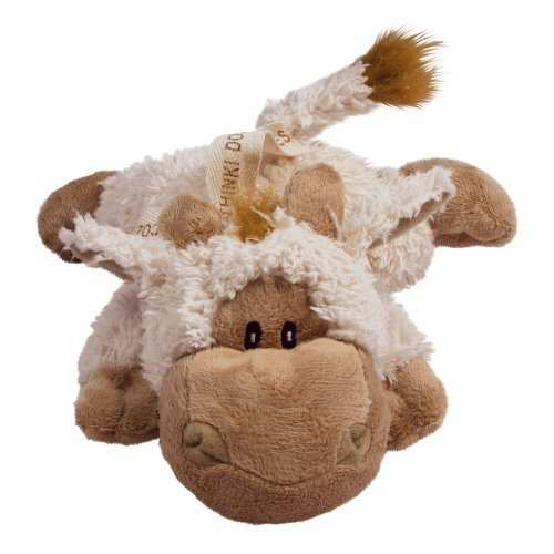 Kong D Cozie Tupper Kong Cozie Tupper The Lamb Medium Dog Toy Tan