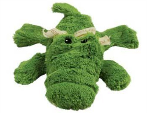 Kong D Cozie Ali Md Kong Cozie Ali The Alligator Medium Dog Toy Green