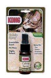 Kong Cat Catnip Spray 1.6oz Kong Naturals Cat Supplies Cat Naturals Catnip Spray