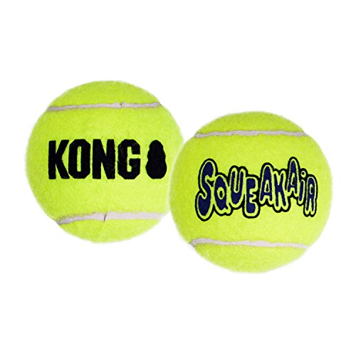 Kong D Sqkr Tns Ball Sm Kong Squeaker Tennis Balls Small Dog Toy 3 Pack