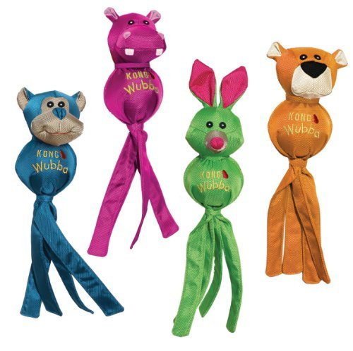 Kong Wubba Ballistic Sm Kong Wubba Ballistic Friends Small Dog Toy Assorted